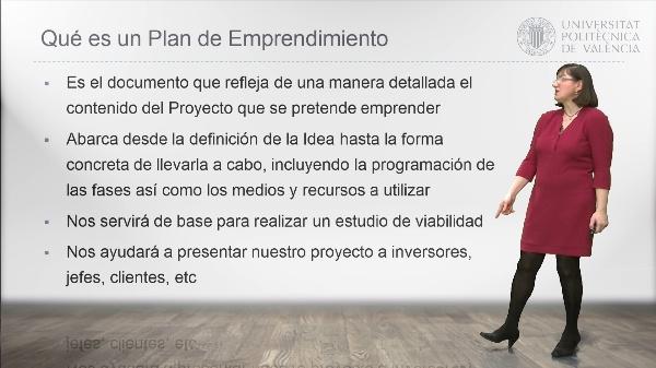 El Plan de Emprendimiento