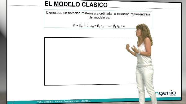 Modelos econométricos. Conceptos básicos