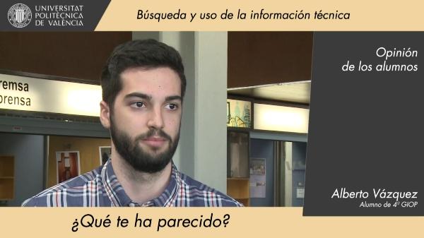 BP01 Búsqueda y uso de la información técnica - Opinión de los alumnos