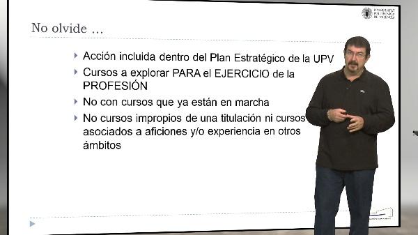Proyecto Observatorio UPV. Recuerda que...