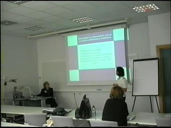 Comunicación 12, Estrategias de comunicación oral en el entorno profesional y académico (JIE)