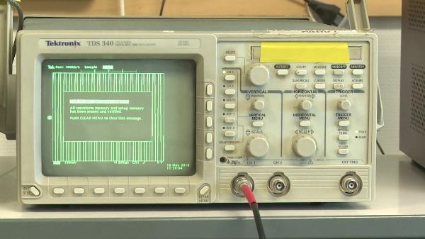 Caracterización espectral de un generador sinusoidal con el osciloscopio