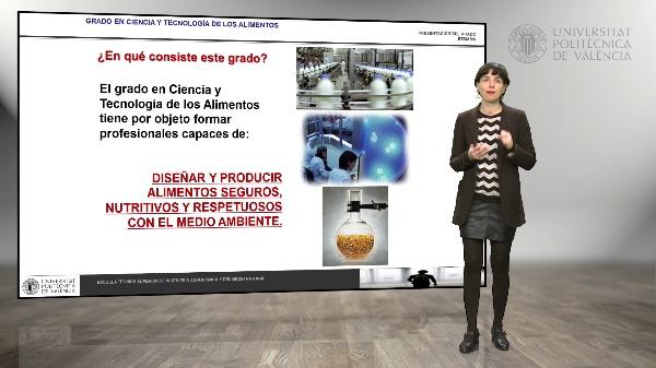 Presentación del Grado en Ciencia y Tecnología de Alimentos
