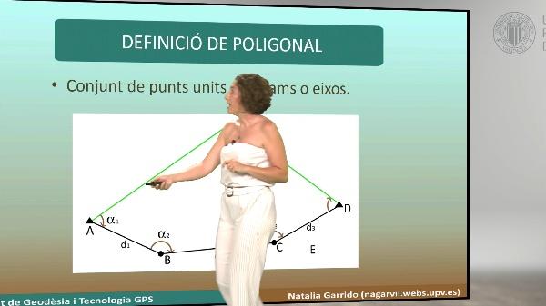Mètodes topogràfics. Pràctica: Poligonal