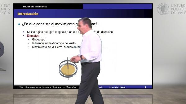 Introducción al movimiento giroscópico