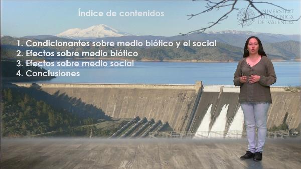 Efectos de las presas sobre el medio biótico y social