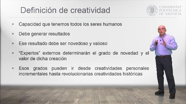 Evolución y definición del concepto creatividad