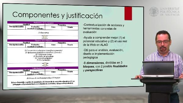 Modelo de evaluación pedagógica del ALAO en la Web