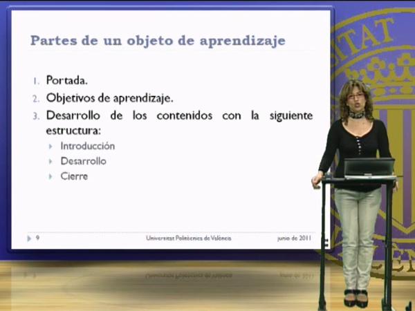 Los objetos digitales de aprendizaje