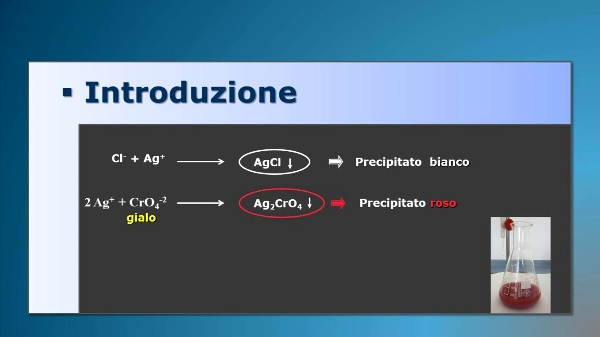 Determinazione di cloruri in acqua (Mohr)