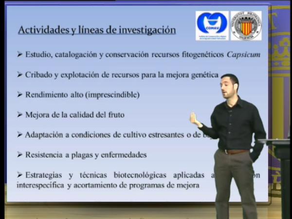 Grupo de Mejora Genética de Pimientos, chiles y ajies (Corto)