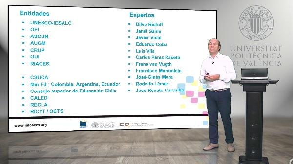 INFOACES, un sistema integral de información para la educación superior de América Latina.