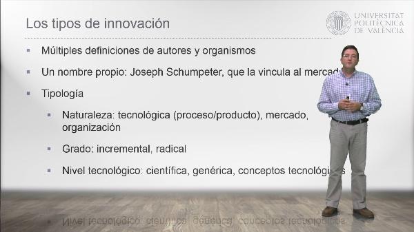 Módulo 1 MGCI. El concepto de innovación y su modelización