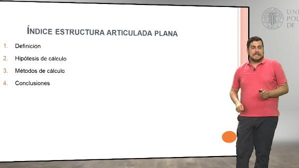 Estructuras articuladas planas