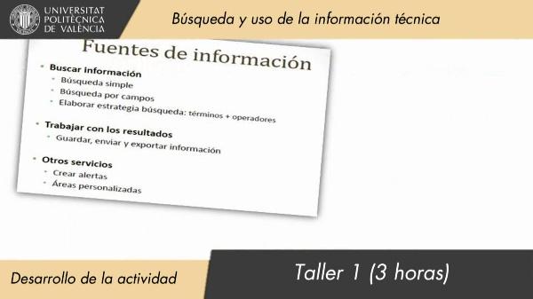 BP01 Búsqueda y uso de la información técnica - Desarrollo