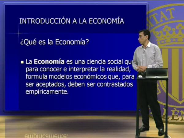 La economía, Conceptos y problemas fundamentales