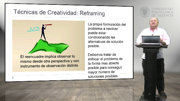 5 Técnicas de Creatividad, Reframing