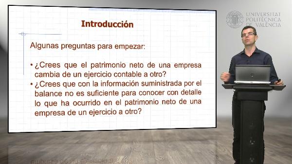 Estado de ingresos y gastos reconocidos del estado de cambios en el patrimonio neto