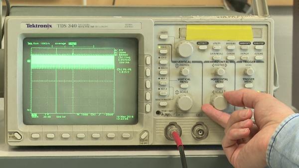 Representación adecuada del espectro de una señal con un osciloscopio