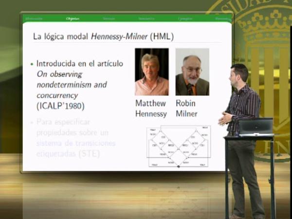 La lógica modal HML