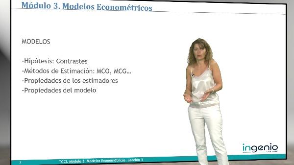 Modelos econométricos. Hipótesis, contrastes y métodos de estimación