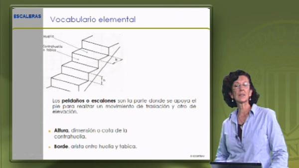 Vocabulario de construcción. Escaleras II