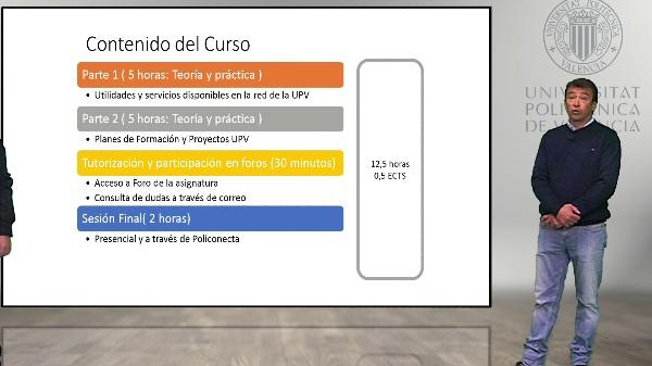 Presentación del curso EUFOL, Recursos Tecnológicos de apoyo al Aprendizaje
