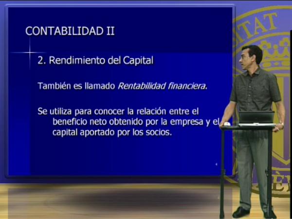 Contabilidad II, Unidad 5. Análisis de la rentabilidad
