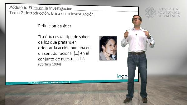 Introducción. Ética en la investigación