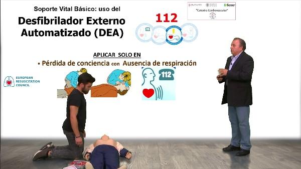 Desfibrilador Externo Automatizado (DEA)