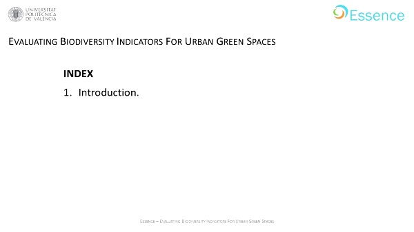 Evaluating biodiversity indicators for urban green spaces
