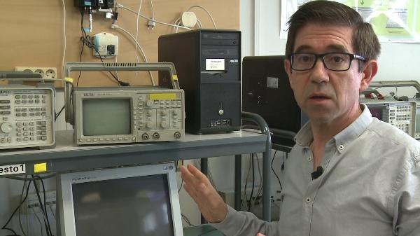 Manejo básico del osciloscopio digital Tektronix TDS 340