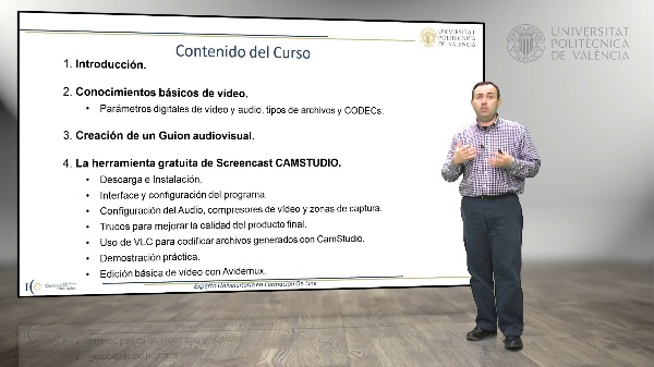 Presentación Asignatura EUFOL, Vídeos Screencast con CamStudio para Windows