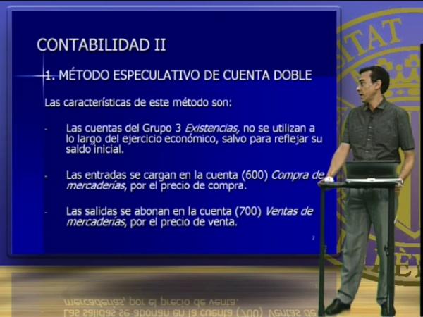 Contabilidad II, Unidad 3. Métodos contables para las cuentas de existencias
