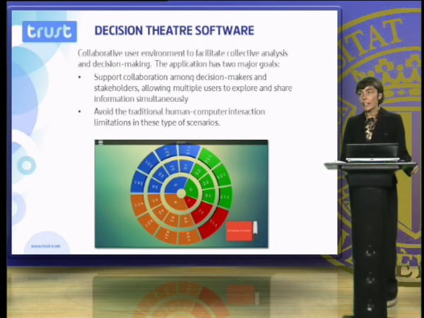 Decision theatre software