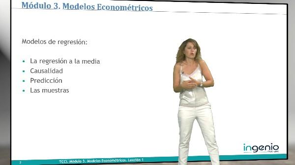 Modelos econométricos. Presentación del módulo 3