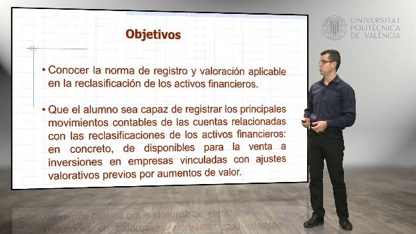 Reclasificación de activos financieros - de disponibles para la venta a inversiones en empresas vinculadas, con ajustes previos positivos