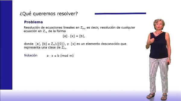Resolución de ecuaciones en Zm
