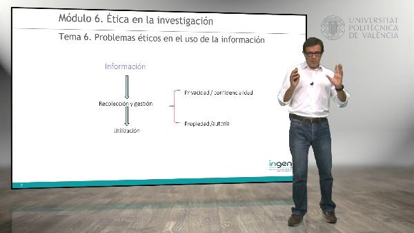 Problemas éticos en el uso de la información