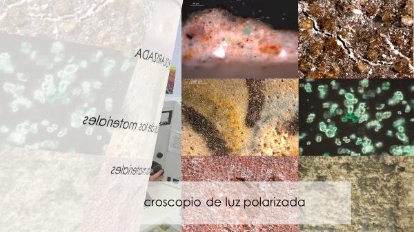 El microscopio óptico de luz polarizada. Elementos y manejo