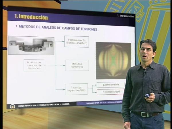 Análisis de tensiones mediante fotoelasticidad