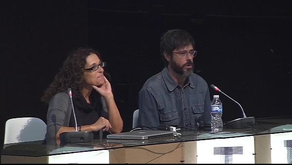 Ilustrafic 2. Clausura por Nuria Rodríguez y David Heras, Directores del congreso. Auditorio Alfons Roig, BBAA, UPV, Valencia.