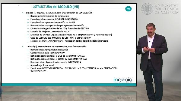 Contenidos y estructura del CURSO