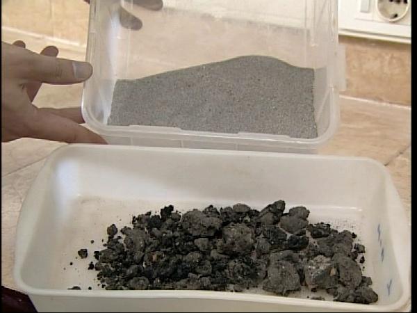 Preparación de muestras y elementos gruesos
