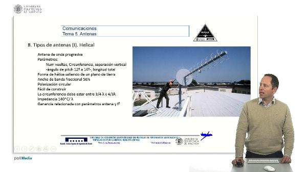 Master RPAS. Asignatura comunicaciones. Antena Hellical