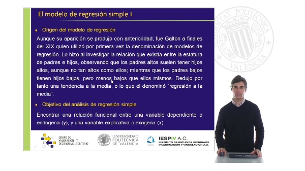 El modelo de regresión simple I
