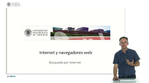 Internet y navegadores web. Búsqueda por Internet