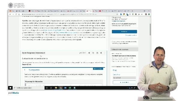 Open EdX Studio. ORA (Evaluaciones de respuesta abierta)