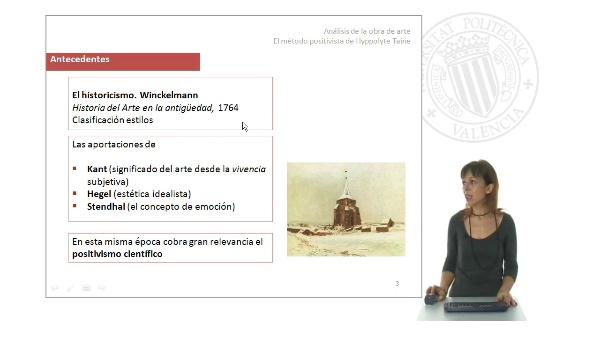 Análisis de la obra de arte: El método positivista de Hippolyte Taine