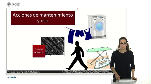 Acciones de mantenimiento y uso.